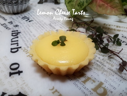 柠檬乳酪塔 (Lemon Cheese Tarts)