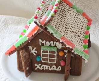 Maison en pain d'épices (fait maison) (Gingerbread House (home made)