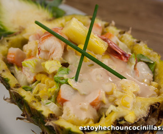 Recette de cocktail tropical aux fruits de mer