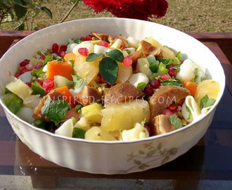Fruit , Vegetable and Macaroni Pasta Salad
