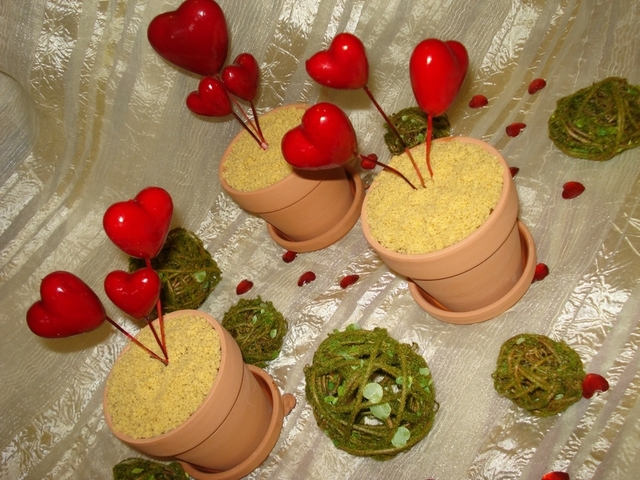 mousse au chocolat et orange en pots d amour
