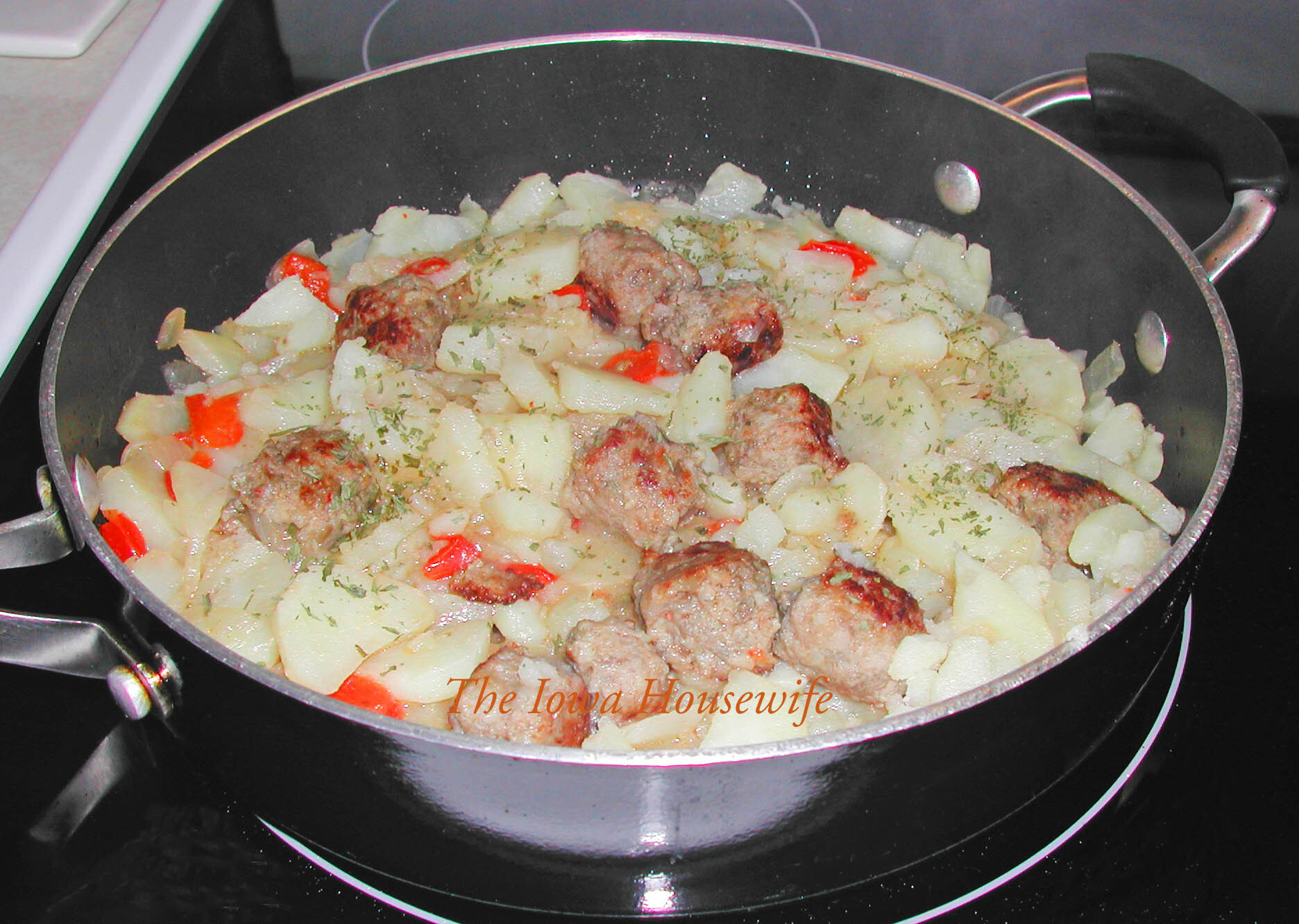 Italian Sausage and Potato Skillet
