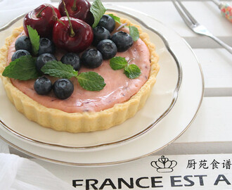 蓝莓乳酪塔 【Blueberry Cheese Tart】