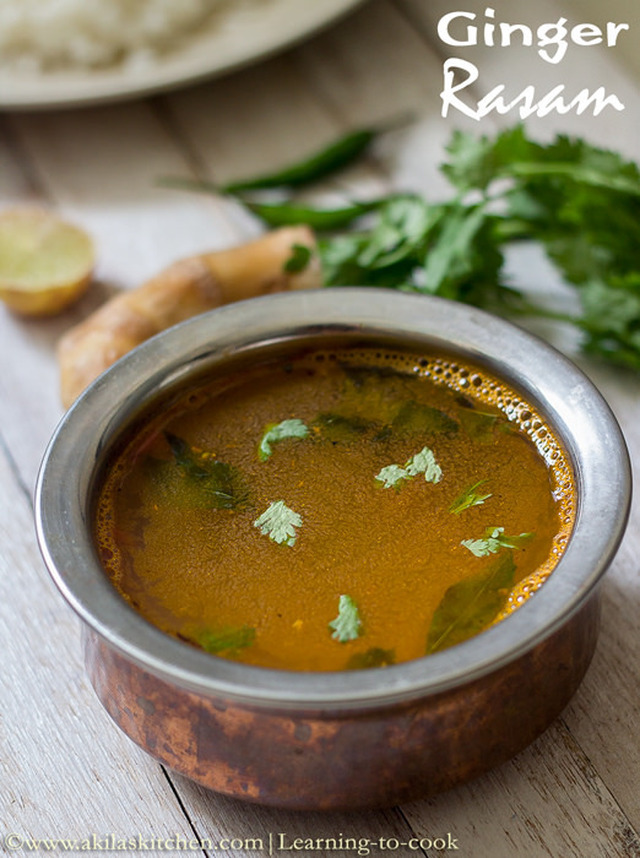 Ginger Rasam | Inji Rasam | How to make Ginger rasam | Ginger Rasam for cold | Easy Rasam Recipes