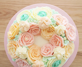 Korean Buttercream Cake