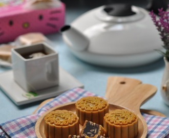 吉蒂猫红豆馅月饼 Hello Kitty Red Bean Moon Cake