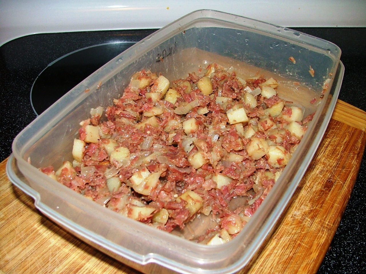 Homemade Corned Beef Hash!
