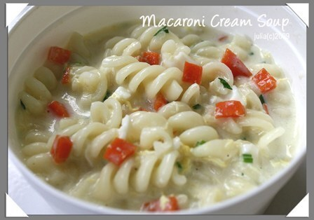Macaroni Cream Soup