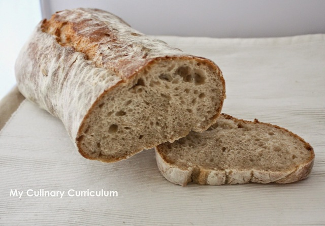 Pain de campagne maison (Recette d'Eric Kayser) (Homemade country bread (recipe from Eric Kayser)