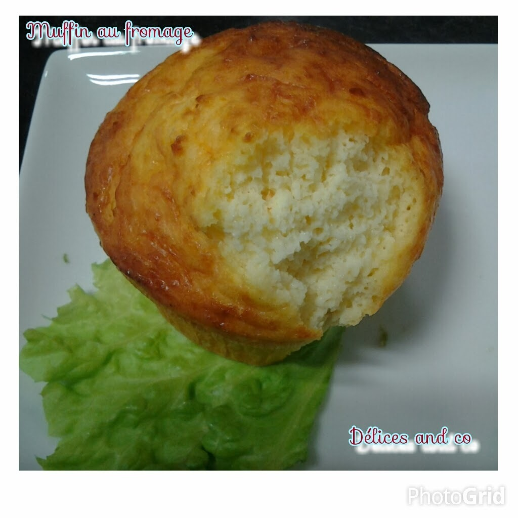 MUFFIN LEGER AU FROMAGE (RECETTE EXPRESSE)