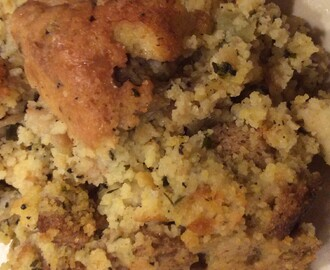 Southern Cornbread Dressing….My Favorite Thanksgiving Tradition