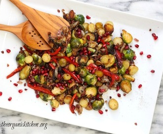 Brussels Sprouts and Fingerling Potato Hash ~ Simple or dressed up for the Holidays!