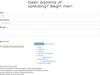 Foodie loves food | Alles over eten!Foodie loves food | Alles over eten!