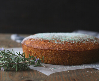BROWN BUTTER PUMPKIN CAKE with CARDAMOM AND SAFFRON