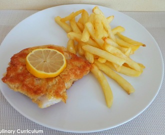 Poisson pané maison (Homemade breaded fish)