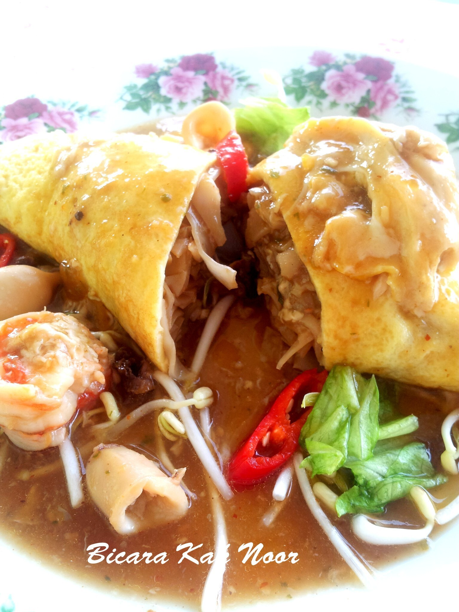 Kueteow Gulung Seafood Yang Simple