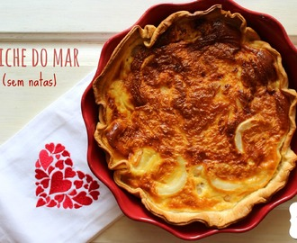 Quiche do mar (sem natas)