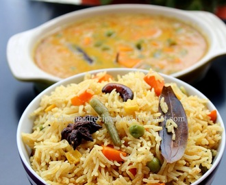 Chettinad Veg Pulao Recipe / Vegetable Pulav