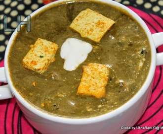 Tofu Palak | Tofu spinach gravy | Soya cheese cooked in spianch gravy with spices | Indian style spicy tofu spinach gravy | How to make easy palakura tofu masala