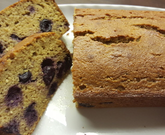 RECEPT: Blueberry Lemoncake