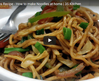 Veg Noodles Recipe Video