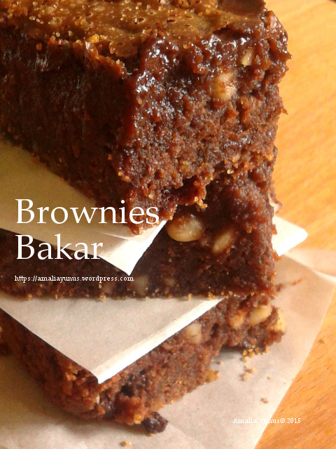 Brownies Bakar