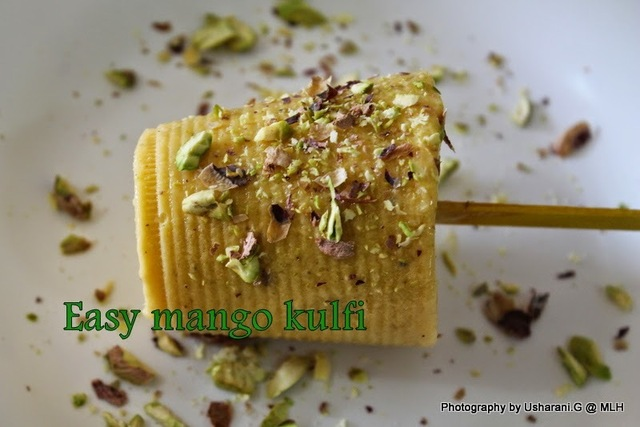 Mango Kulfi | Simple mango kulfi with cool whip cream | Mango recipes | Summer recipe ideas | How to make mango kulfi ice cream at home