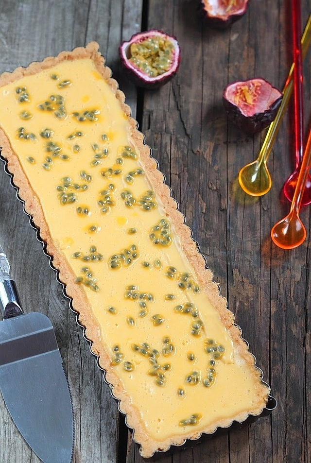 Tarte citron/passion