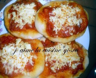 mes mini pizza miammm