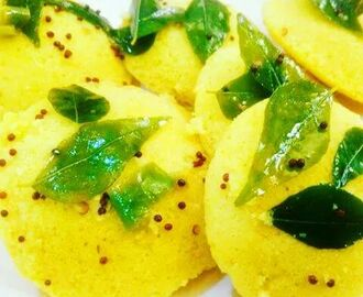 Yummy and Delicious Idli Dhokla!