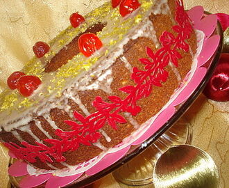 gateau express citron-canneberge