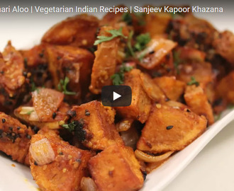 Kurkure Achari Aloo Recipe Video