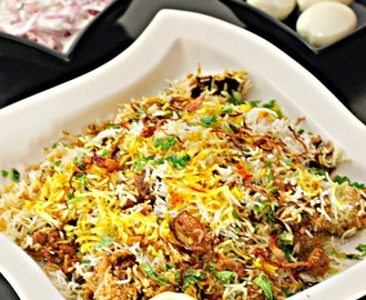 Hyderabadi  Mutton Biryani/ Kachchi Ghost Ki Biryani