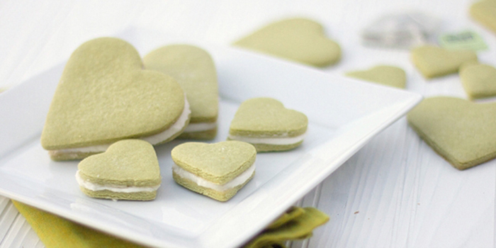 Green Tea Cookies Romantis