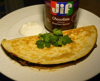 2014 Butterball Cookbook Plus Blogger Contest: Ole' Ole' Ole' Mole Left-Over Turkey Quesadilla