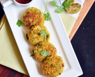 Peas paneer cutlet recipe | Easy after school snack recipes