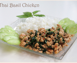 Курица с базиликом  по-тайски (Thai Basil Chicken)