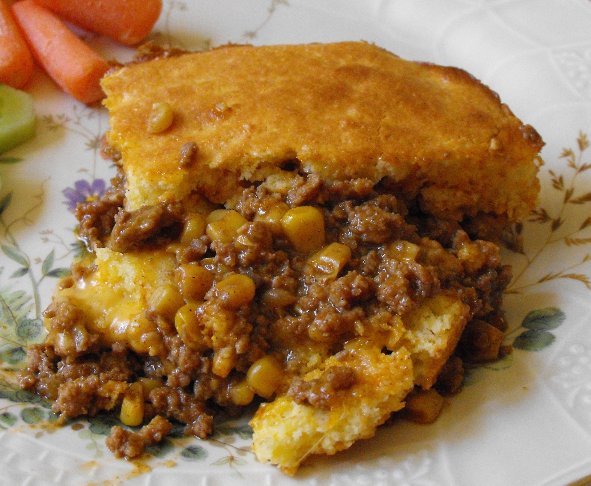 Cooking From the Pantry--Taco Tamale Pie