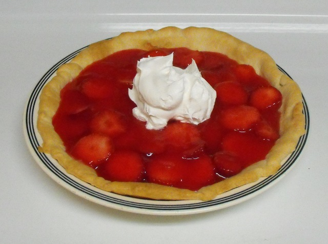 Fresh and Easy Strawberry Pie
