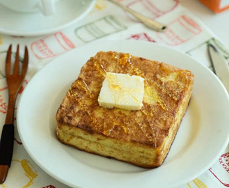 Hong Kong Style French Toast 法蘭西多士