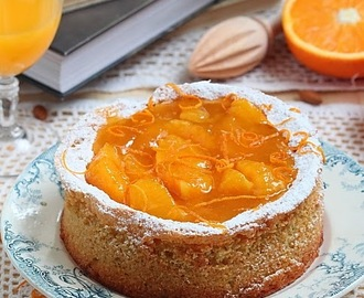 Gâteau d'amande à l'orange