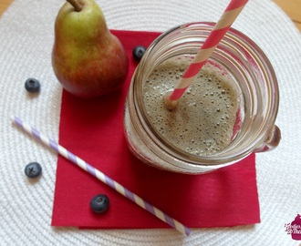 Smoothie fruité Poire/Myrtille