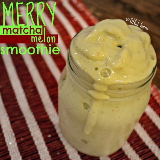 Merry Matcha Melon Smoothie {vegan, gluten free}