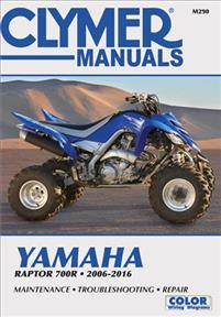 Clumer Manuals Yamaha Raptor 700R 2006-2016