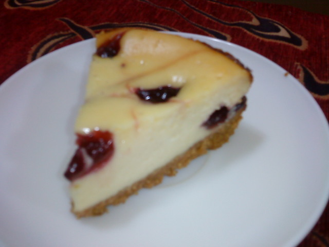 BAKE BLUEBERRY CHEESE CAKE