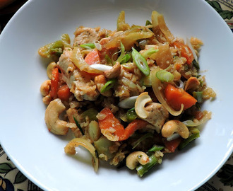 Garlic Cashew Chicken
