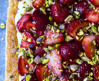 heinstirred wrote a new post, Strawberry Pistachio Tart, on the site heinstirred