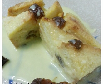 BUTTER BREAD PUDDING CHEF ASMA