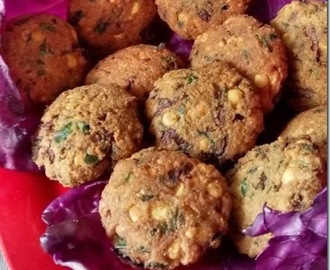 Cabbage(Purple) Vada