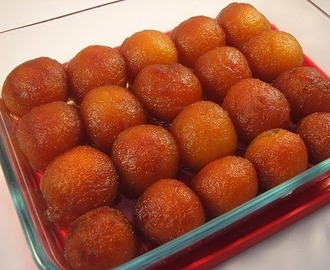 Pakistani sweet  Gulab Jamun recipe